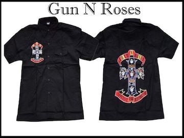 ガンズ&ローゼスバンド(2XL)Guns N Roses半そでシャツ