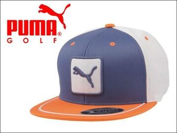 PUMA キャップ 3 COLOR CAT PATCH 110 CAP オレンジ