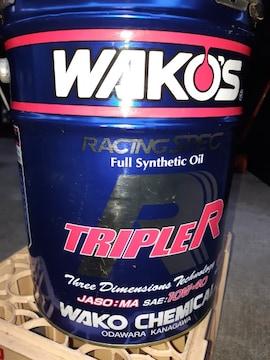 ワコーズ、エンジンオイル空缶