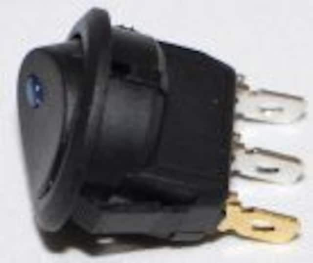 LEDスイッチ シンプルオンオフ ロッカースイッチ 3ピン < 自動車/バイク