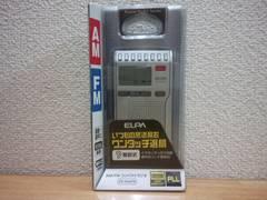 ELPA デジタルチューナーラジオ ER-N34PR