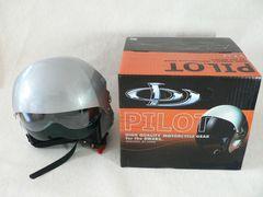 空軍仕様 ジェットヘルメット ◆2枚シールドを装備