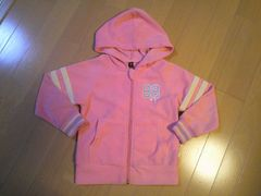 ピンクパーカージャケット☆女児長袖上着☆サイズ110�p