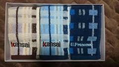 Kansai Yamamoto U.P renoma ミニタオル ハンカチ カンサイ