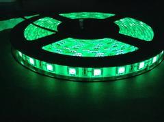 12V LED テープ 3チップ300連 5m 防水白ベース  グリーン 緑