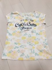 H&M 花柄Tシャツ120