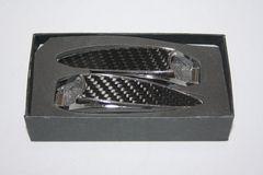 ウィンドウウオッシャーカバーメッキ+カーボン柄金属タイプ