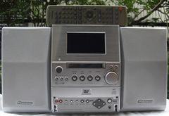 Pioneer/X-SV5DV-S DVD/CD/MDミニコン中古完動品!!
