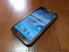 即落/即発!!中古品 SC-02E Galaxy Note 2 ブラウン