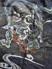 左足に神が宿る日本製デニム!大きい40インチむかしむかし美品