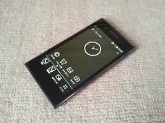 即落/即発!!美中古品 L-02D PRADA PHONE ブラック