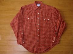 USA製 ロックマウント ウエスタンシャツ Sサイズ