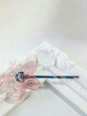 春の新作*ピンクの桜のヘアピン  レジン  ハンドメイド