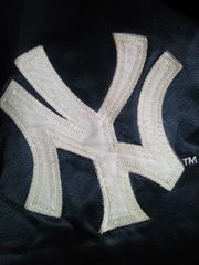 野球 アメリカ メジャーリーグ NY ニューヨーク ヤンキース ジャンパー スタジャン ネイビー M