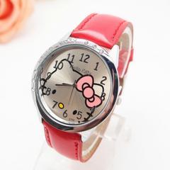 ハローキティ キティー 腕時計 レディース 赤