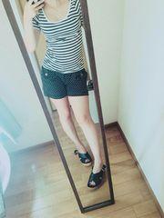 ボーダーTシャツ(/ω\)