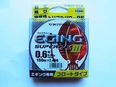 【釣工房】ユニチカ エギングスーパーPE3 0.6号-150m No6-384