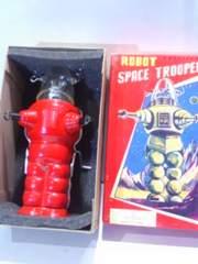 ブリキ製品 スペーストルーパー 宇宙人ロボット
