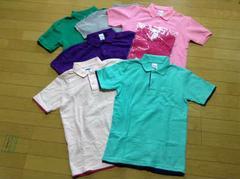 Printstar(プリントスター)定番鹿の子ポロシャツ6枚セットSS