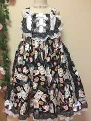 princess kiss☆キャットインワンダーランドジャンスカ☆サイズM140〜150