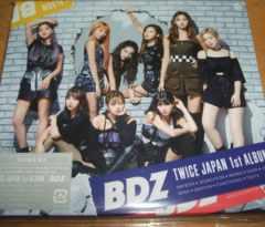 TWICE☆アルバム(CD+DVD)『BDZ(初回限定B)』