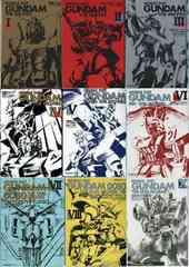 機動戦士ガンダム THE MOVIES フィルムコミックス �T〜�[/�]巻 9冊