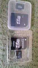 中古 microSDカード 1GB&8GB 2枚 動作OK ケータイで使用