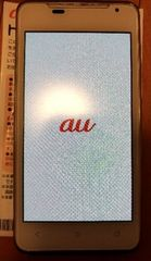 au HTC J ISW13HT白WhiteホワイトHTI13