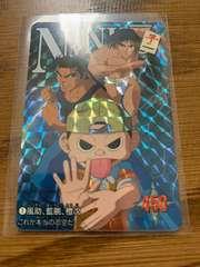 忍空 カードダス 風助 藍ちょう 橙次 カードNo.1