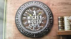 ミッキーマウス プレミアムレリーフウォールクロック 未開封・新品・非売品