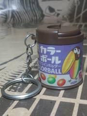 希少【チョコボール】キョロちゃんビンテージキーホルダー『ワクワクコインホルダー』