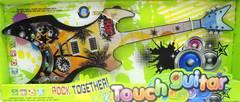 エアギターができる サウンド切替 タッチギター