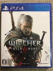 ウィッチャー3 ワイルドハント 美品 PS4