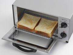 オーブントースター ホワイト 温度調節9段階