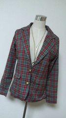 2013福袋★ROSE FANFAN(ローズファンファン)ブロックチェック柄可愛いジャケット