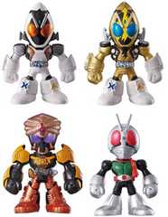 THE仮面ライダーズPAPT7全4種類