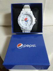 Pepsi リストウオッチ(べゼル付きタイプ) ホワイト