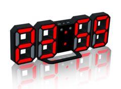 【送料無料3D 8888 LEDデジタル目覚まし時計