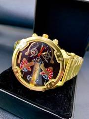 新作XINEW正規腕時計◆BIGゴールドベルトディアルフェイス◆DIESEL系◆