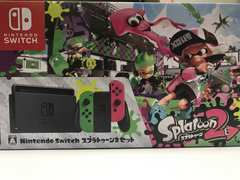 限定カラー☆任天堂 Nintendo Switch スプラトゥーン2セット☆