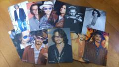 ジョニー・デップのポストカード 10枚
