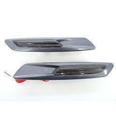 LED カーボンチョウ サイドマーカー  ポジション機能付き フェンダー ウインカー レクサス