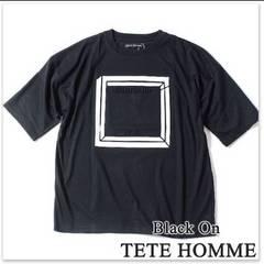 新品未使用タグ付きBlack on TETE HOMME Tシャツ M プレゼントに