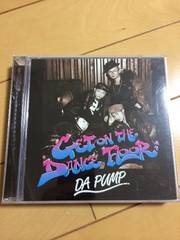 DA PUMP get on the dance floor シングル dvd付き 美品