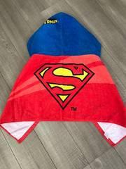 新品スキップランド スーパーマン巻きタオル水遊びにバスタオル