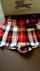 BURBERRYブルレ巻きスカート(ショートパンツ)