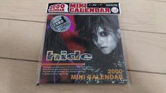 新品未開封 X JAPAN hide 2000年カレンダー