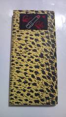 カルコーク黄色ヒョウ柄長財布クリームソーダ豹柄ネオロカビリーフィフティーズ東京ペパーミント