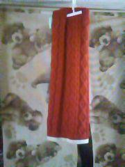 赤のスカート