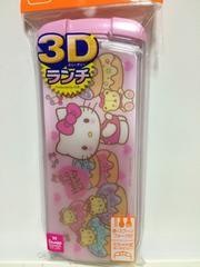 3D*ランチ*キティ*トリオセット*フォーク*スプーン*箸